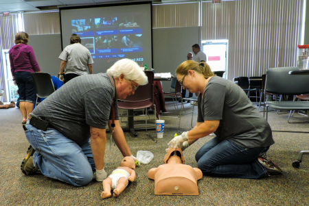 Safety and CPR Training at Cover-Tek